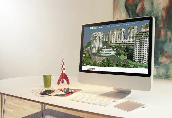 1001 Pırlanta Vadisi Web Tasarım ve Sanal Tur Uygulaması