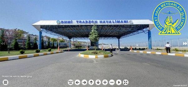 Trabzon Havalimanı Sanal Tur