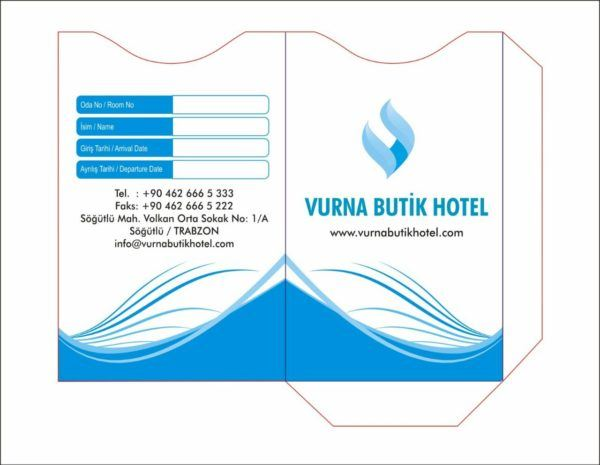 Vurna Butik Hotel Fatura Tasarım