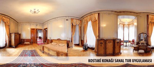 Kostaki Konağı Sanal Tur Uygulaması